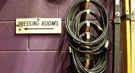 Dressing Rooms Sign