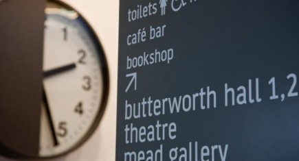 Warwick Arts Centre Sign