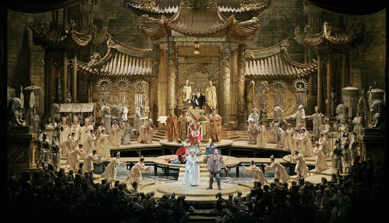 Met Opera Live Turandot Puccini Warwick Arts Centre
