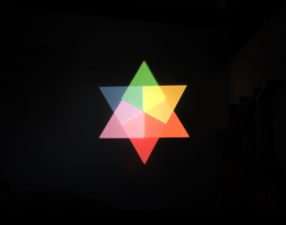 Olafur Eliasson Ephemeral afterimage star, 2008