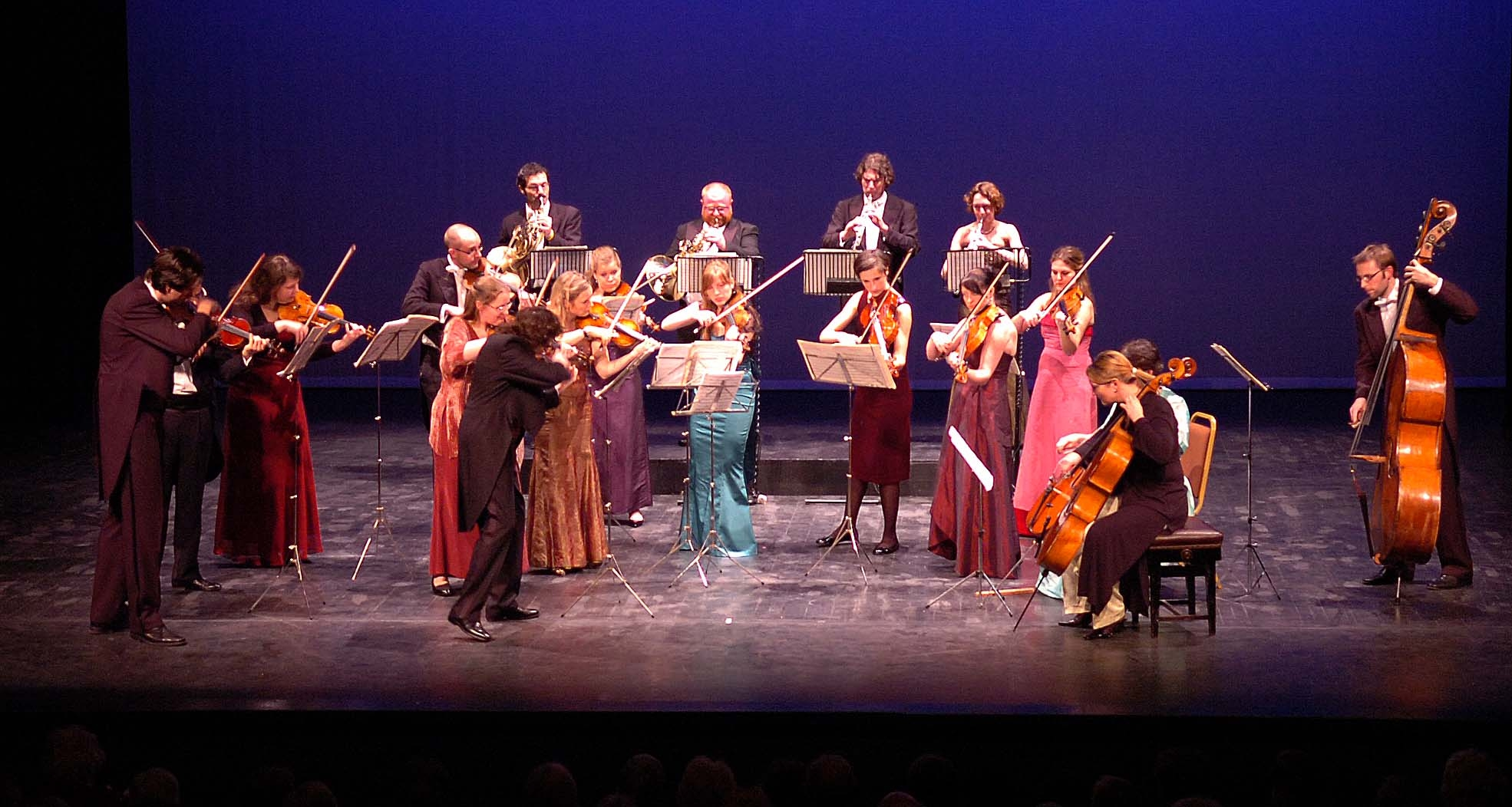 European union chamber orchestra for Chamber orchestra of europe