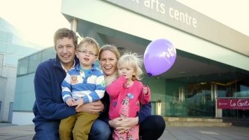 Family at Warwick Arts Centre