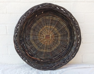 A woven willow basket