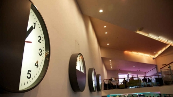Foyer clocks