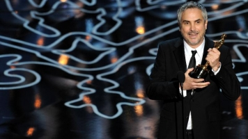 Alfonso Cuaron, director of British film Gravity