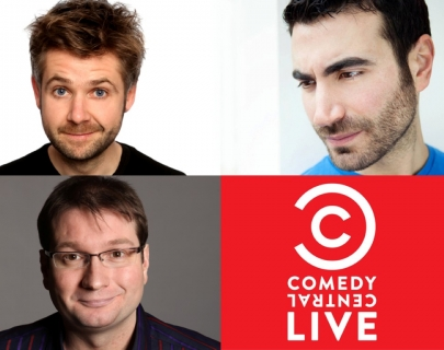 Comedy Central May 2014 MC Rob Rouse presents Brett Goldstein and Gary Delaney