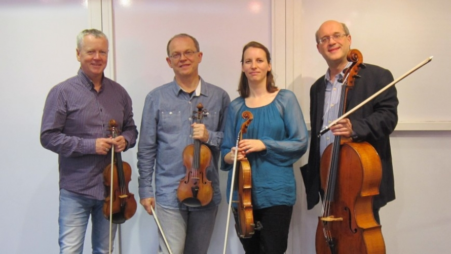 Coull Quartet Take Up Residence at Warwick Arts Centre