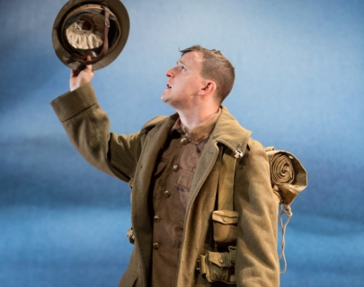 Andy Daniel in title role of Private Peaceful - photo 2 by Jonathan Keenan