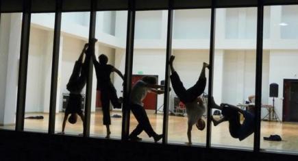 Boys Dancing in the Helen Martin Studio