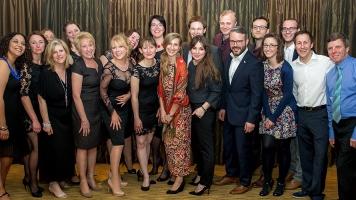 Warwick Arts Centre team at the CCSG Awards