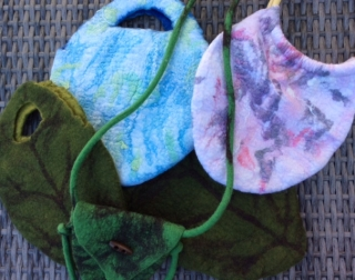 Working with Felt - Handmade Felt Bags