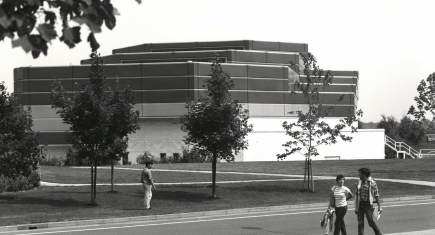 Warwick Arts Centre 1970s