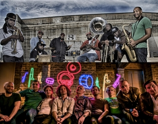 Hot 8 and Hackney Colliery Band