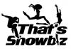 That's Showbiz - silhouette dancers logo