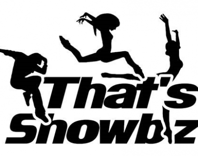 That's Showbiz - silhouette dancers logo