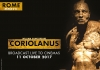 A Royal Shakespeare Company poster of Coriolanus