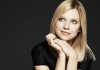 Pianist Valentina Lisitsa on a black background