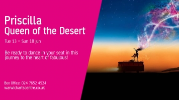 Priscilla: Queen of the Desert show poster