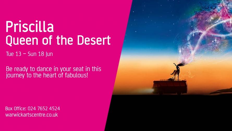 Priscilla: Queen of the Desert show poster