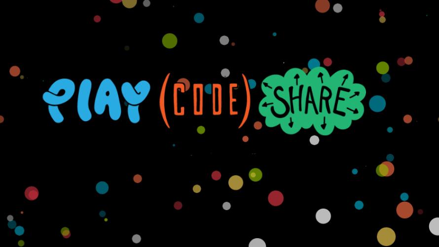 Play Code Share logo