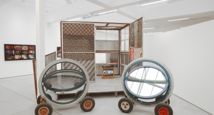 Marvin Gaye Chetwynd, The Folding House, 2010
