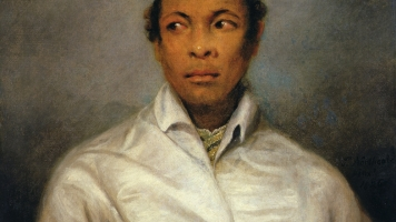 A portrait of Ira Aldridge