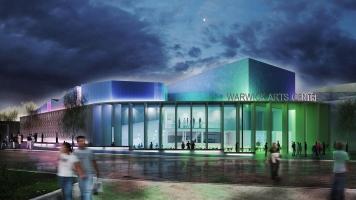 Artistic impression of the new Warwick Arts Centre